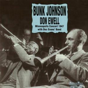 Bunk Johnson Doc Evans CD