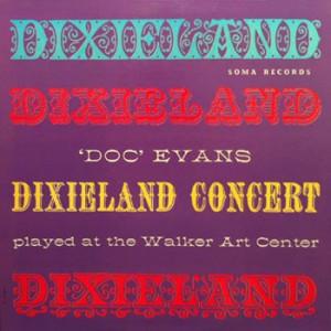 Doc Evans Dixieland Concert Soma LP